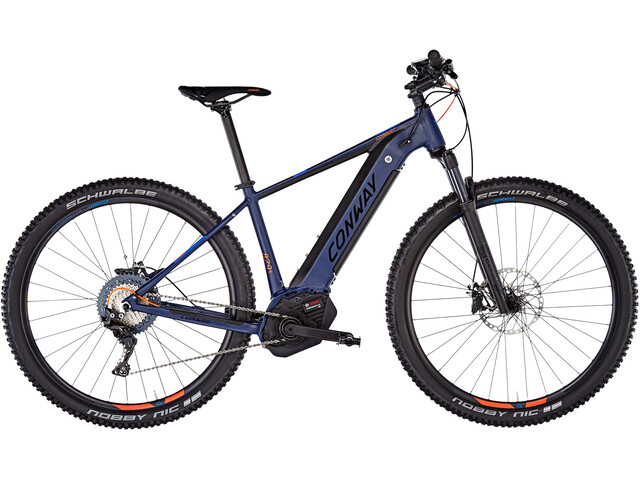 Conway eMS Powertube 829 E-mountainbike blå/sort